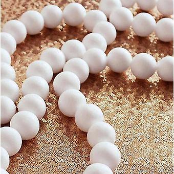 500pcs Modelling Polystyrene Styrofoam Foam Ball - Craft Balls For Diy Christmas Party Decoration