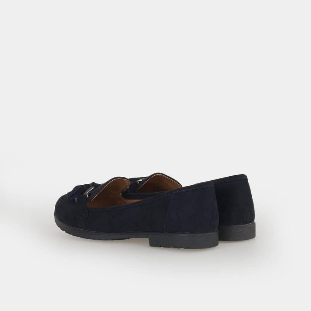 Zian Dress Shoes 18322_36 Blue Color
