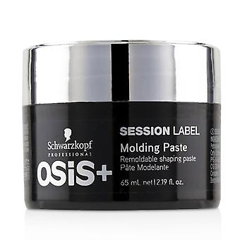 Schwarzkopf Osis+ Session Label Molding Paste (Remoldable Shaping Paste) 65ml/2.19oz