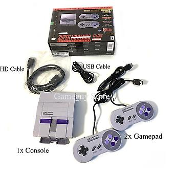 Hd Output Snes Retro Classic Handheld Video Game Player Can Save The Game Console - Gamepad