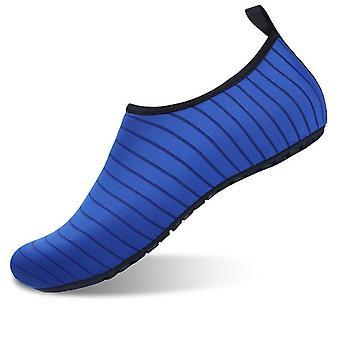 Slip-on sportskor för vatten och yoga stl 38/39 - blå