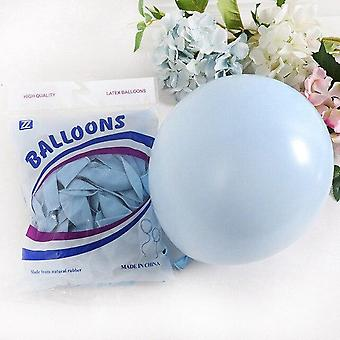 Macaron Latex Pastel Candy Balloon - Baby Shower Decor