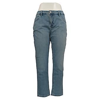 Laurie Felt Women's Petite Jeans Classic Denim Boyfriend Blue A371621