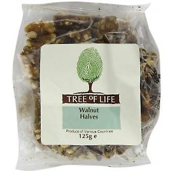 Tree Of Life - Organic Walnuts - Halves 125G X 6