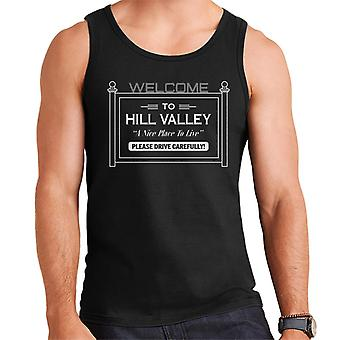 Back to the Future Welcome To Hill Valley Men's Vest