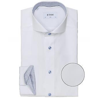Eton Slim Fit Micro Trim Shirt