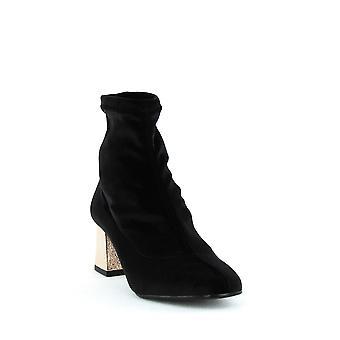 ASKA | Gia Stretch Sock Block Heel Boots