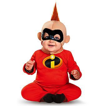 Baby Jack Jack attackera Superhjältarna Disney Movie toddler Boys kostym 12M-18M