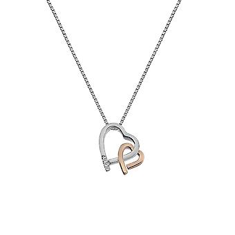 Hot diamanter amore hjerte anheng DP660