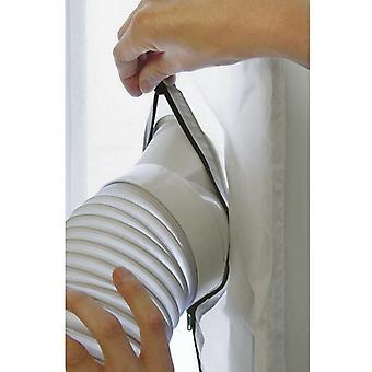 Ikkunatiiviste liikkuville ilmastointilaitteille Ilmastointilaitteiden kuivausrummut ja pakokaasut