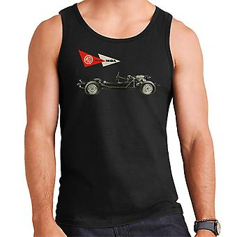 MG MGA Series British Motor Heritage Men's Vest