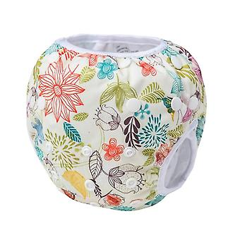 Swim Diaper Leakproof Reusable Adjustable For Infant 2 -12 Month Baby Swimwear