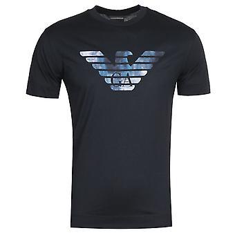 Emporio Armani Logo Navy T-shirt