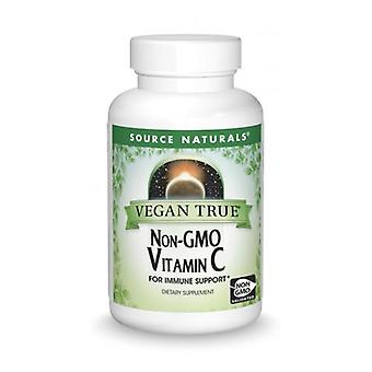 Source Naturals Vegan True Non-GMO Vitamin C, 1000 mg, 60 Tabs