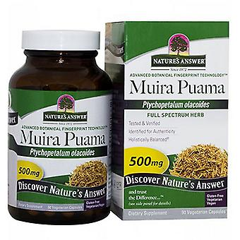 Nature's Answer Muira-Puama Bark, 90 Caps