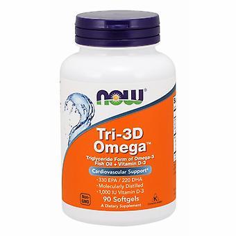 Nå Foods Tri 3D Omega, 90 sgels
