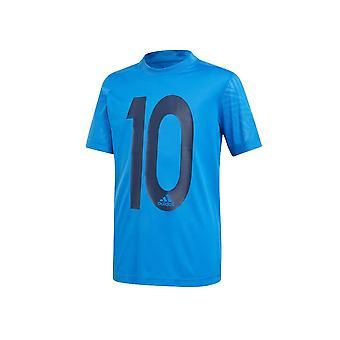 Adidas JR Messi Icon DV1317 football all year boy t-shirt