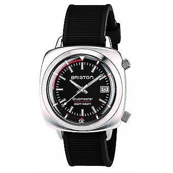 Briston Clubmaster Diver Watch - Svart/Stål