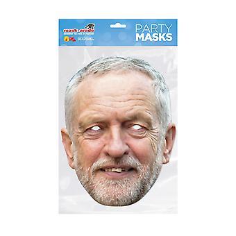 Mask-arade Jeremy Corbyn Celebrities Party Face Mask