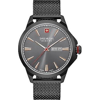 SWISS MILITARY-HANOWA - Montre - Hommes - DAY DATE CLASSIC - 06-3346.13.007