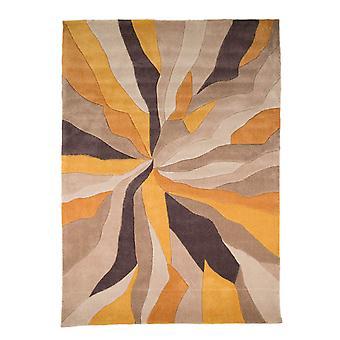 Infinite Splinter tæppe-rektangulær-Ochre/brun