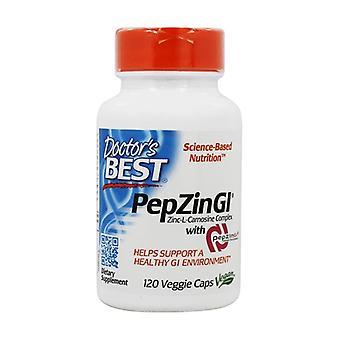 PepZin GI 120 vegetable capsules