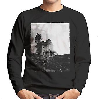 Psycho Establishing Shot Of Norma Bates Home Men's Sweatshirt