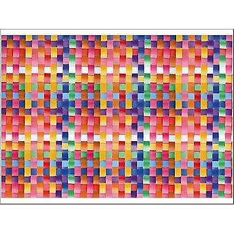 Fablon 45cm x 2m Basket Multicolour FAB12902