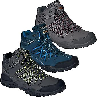 Regatta Kids Edgepoint Water Resistant Outdoor Walking Hiking Ankle Boots