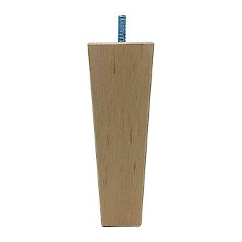 Tre trapes møbler ben 16 cm (M8) (1 stk)