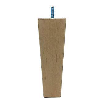 Puinen trapetsikalustejalka 16 cm (M8) (1 kpl)