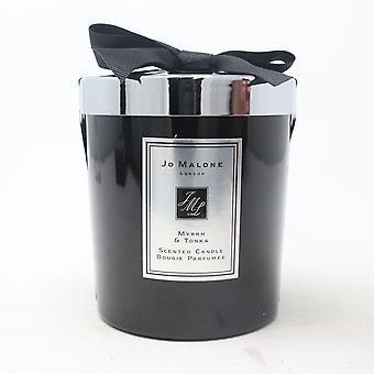 Jo Malone Myrrh & Tonka Scented Candle  7.0oz/200g New With Brown Box