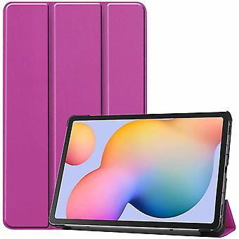 FONU Tri-Fold SmartCase Case Samsung Galaxy Tab S6 LITE 10,4 Zoll - (P610 / P615) - Lila