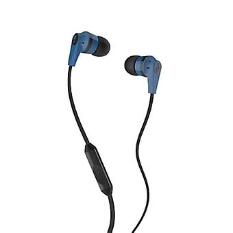 Skullcandy Ink'd 2.0 - In-Ear Earbuds with Microphone - Blue