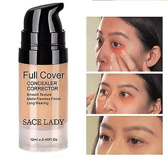 Full Face Cover, Vattentät Concealer