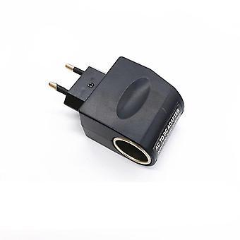 Ac 110v/220v إلى Dc 12v 0.5a 500ma 6w Eu Plug محول سيارة سجائر ولاعة