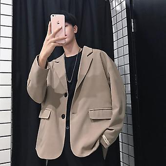 Spring/summer Men's Japanese Style Couple Loose Suit Jacket