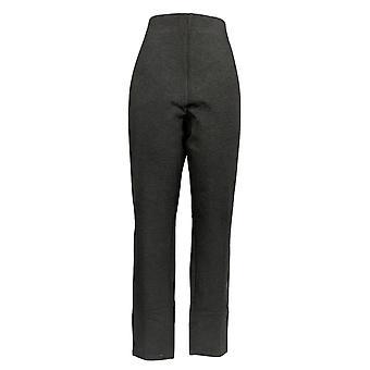 Kelly by Clinton Kelly Women's Pants Straight Leg Ponte Gray A272020