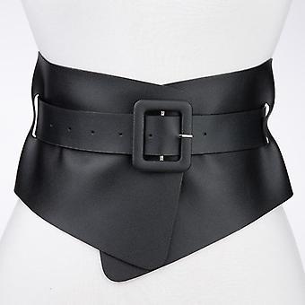 Hot Designer Punk Gótico Faux Cintos para mulher classe Elástica Femme Vestuário