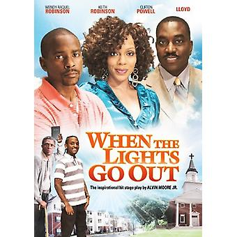 When the Lights Go Out [DVD] USA import
