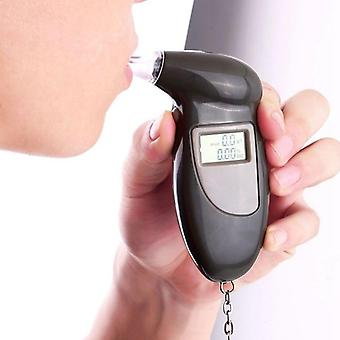 Professional Digital Alcohol Tester Breathalyzer Analyzer Detector