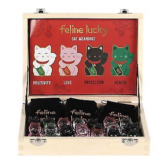 Feline Lucky Cat Charm (Pack of 20)