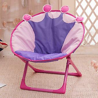 Children Folding Small Moon Recliner Baby Cartoon Backrest Chair
