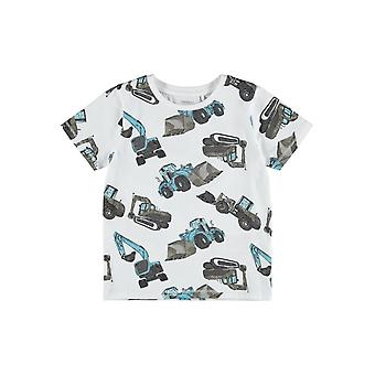 Name-it Boys Tshirt Donniso Blanche-Neige