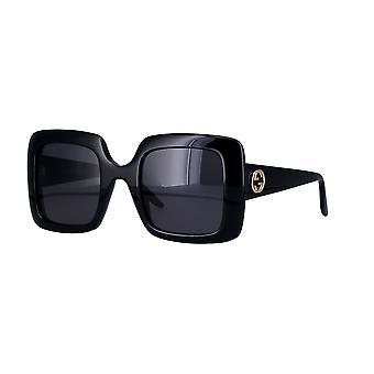 Gucci GG0896S 001 Black/Grey Sunglasses