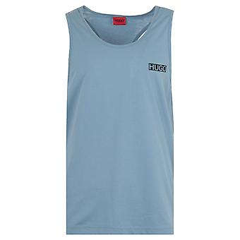 HUGO Macau Relaxed Fit Tank Top - Dusty Blue