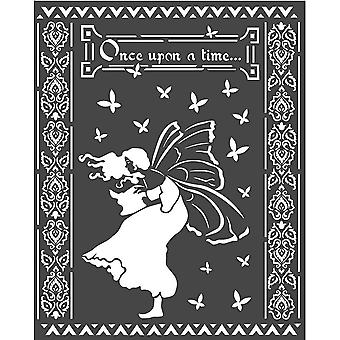 Stamperia Thick Stencil 20x25cm Once Upon A Time