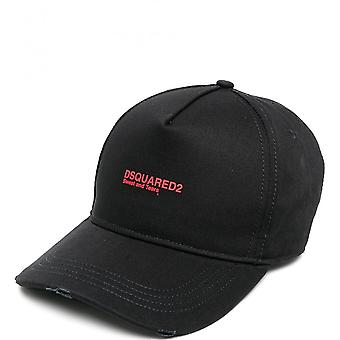 Dsquared2 Red Logo Cap