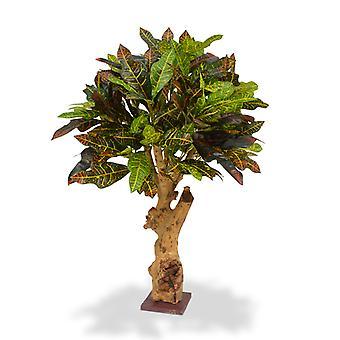 Croton artificial 80 cm a pé