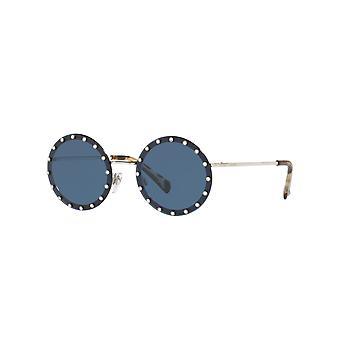 Valentino VA2010B 300680 Gafas de sol plateadas/azul oscuro